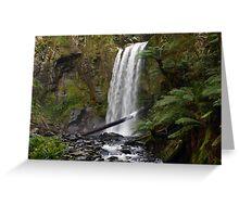 Hopetoun Falls Landscape Greeting Card