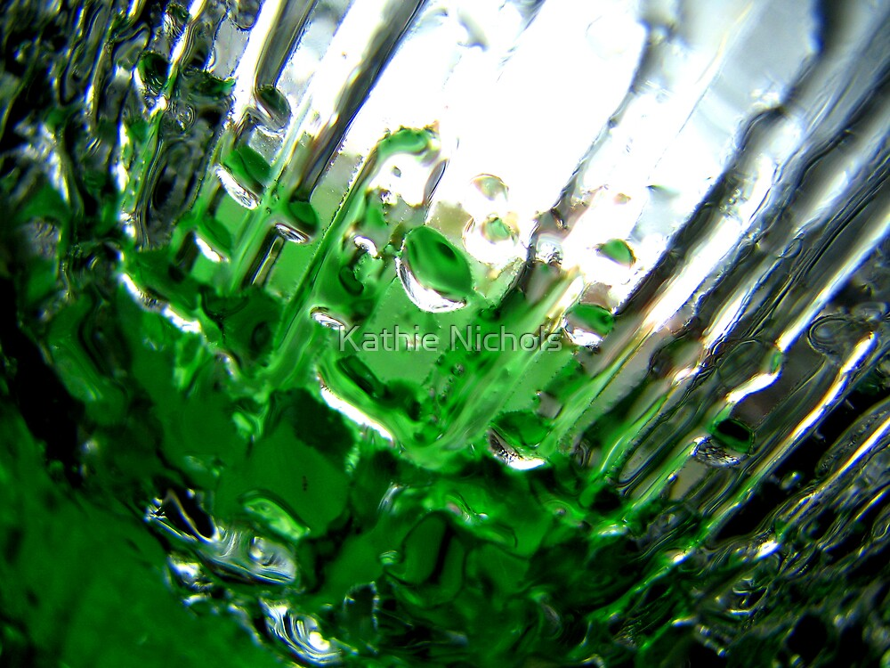 Green Ice I by Kathie Nichols