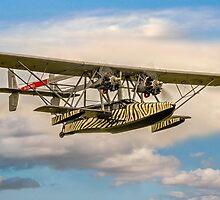 """Sikorsky S-38B replica N-28V """"Osa's Ark"""" by Colin Smedley"""