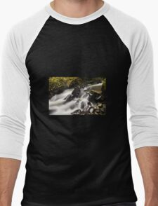 Silky Waterfall Men's Baseball ¾ T-Shirt