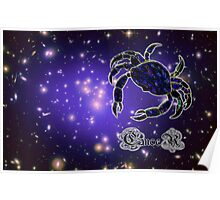 The Zodiac Sign of Cancer - all products Poster
