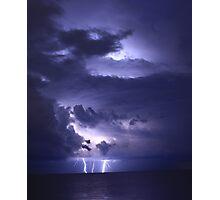 Triple Strike THunderhead Photographic Print