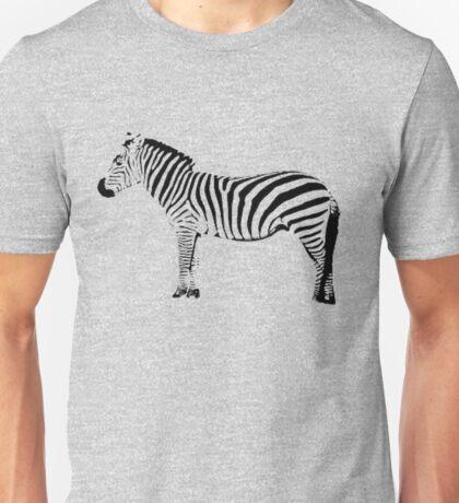 Black and ? zebra, you choose Unisex T-Shirt