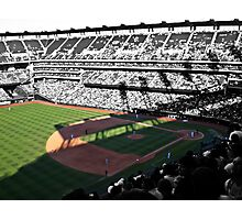 """""""Take me out to the ball game.. """" Photographic Print"""