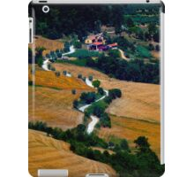 Tuscany Small Road Landscape (Italy) iPad Case/Skin