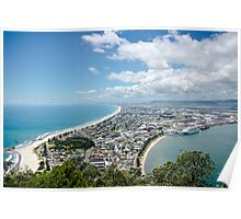 View from Mt Maunganui 2 Poster