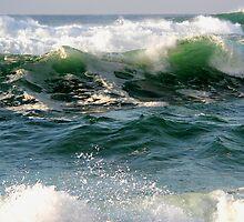 beach waves. Sintra.  by terezadelpilar~ art & architecture