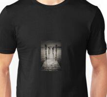 Moody Jetty at Keswick, Lake District Unisex T-Shirt