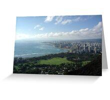 Waikiki #1 Greeting Card