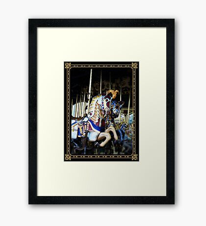 Carousel of Colour Framed Print