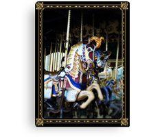 Carousel of Colour Canvas Print
