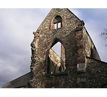 Ruins of St. Christof Kirche Photographic Print