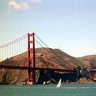 Golden Gate #2 by Kristin Hamm