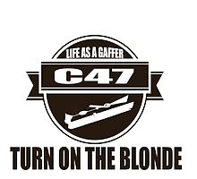 Turn on the Blonde Life as a Gaffer by Prussia