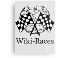 Wiki-Races! Metal Print