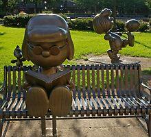 Peanuts Statues in Rice Park 2 by Tom  Reynen