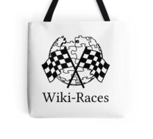 Wiki-Races! Tote Bag