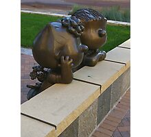 Peanuts Statues Photographic Print