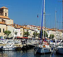 View Across La Ciotat Bay, Provence, France by atomov