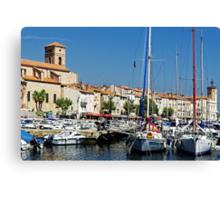 View Across La Ciotat Bay, Provence, France Canvas Print
