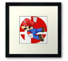 Super Smash Bros. - Mario Framed Print