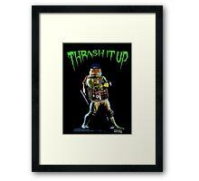 Thrash Metal Turtlemania Framed Print