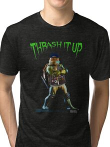 Thrash Metal Turtlemania Tri-blend T-Shirt