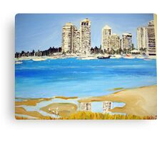 Gold Coast Broad Water  Canvas Print