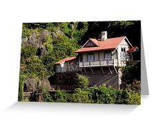 photoj Tas Launceston Gorge Greeting Card