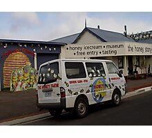 photoj Tasmania Nth, Honey Shop Photographic Print