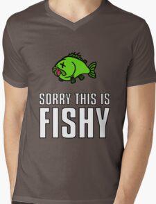 Sorry This Is Fishy! Mens V-Neck T-Shirt