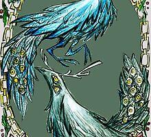 antlerbird by krakens-ink