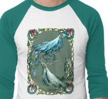antlerbird Men's Baseball ¾ T-Shirt
