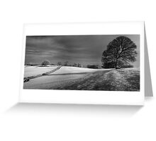 Mendip view Greeting Card