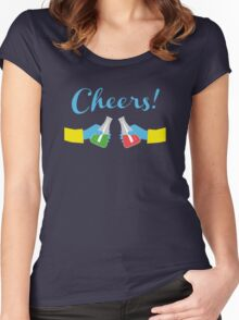 Chemical Cheers! Women's Fitted Scoop T-Shirt