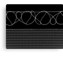 Sharp Lazy Loops Canvas Print