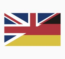 uk germany flag Kids Clothes