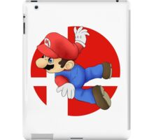 Super Smash Bros. - Mario iPad Case/Skin