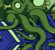 The Doctor Vs Cthulhu Sticker