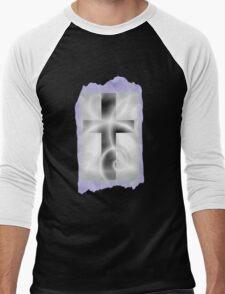 Cross T Shirt Men's Baseball ¾ T-Shirt