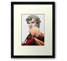 I need to get to know London again... Framed Print