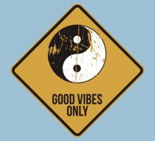 Yin Yang -  Good Vibes Only Kids Clothes