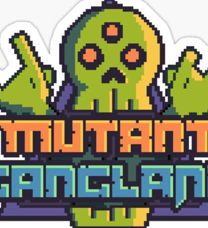 Mutant Gangland Logo Sticker