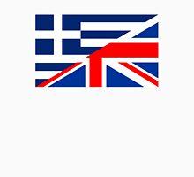 uk greece flag Unisex T-Shirt