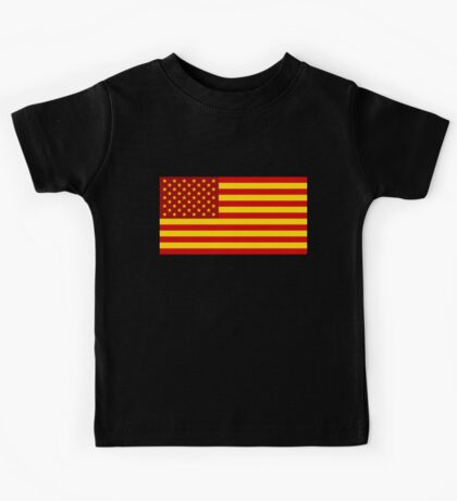 Better red than naked! Kids Tee