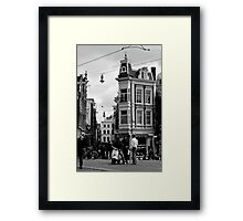 Intersection Meeting Framed Print