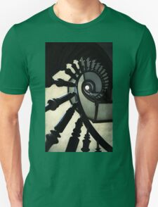 Wooden spiral staircase Unisex T-Shirt
