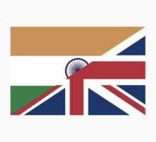 uk india flag Kids Clothes