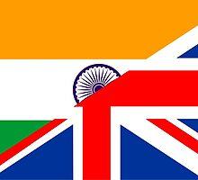 uk india flag by tony4urban