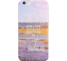 I Need the Sea iPhone Case/Skin